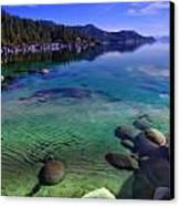 Lake Tahoe Waterscape Canvas Print