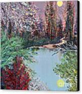 Lake Tranquility Canvas Print