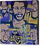 Laker Love Canvas Print by Tony B Conscious