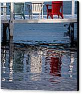 Lakeside Living Number 2 Canvas Print