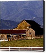 Lakeville Barn Canvas Print by Bill Gallagher