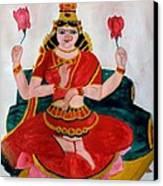 Lakshmi Canvas Print by Pratyasha Nithin