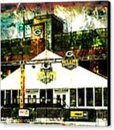 Lambeau Field - Tundra Tailgate Zone Canvas Print by Joel Witmeyer