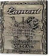 Lamont Grand Vin De Bordeaux  Canvas Print