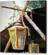 Lanterns Canvas Print by Marty Koch