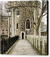 Lanthorn Tower Canvas Print by Heather Applegate
