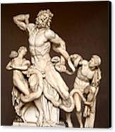 Laocoon And Sons Canvas Print by Ellen Henneke