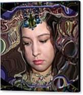 Lapislazuli Beauty Canvas Print