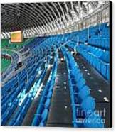 Large Modern Sports Facility Canvas Print by Yali Shi