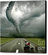 Large Tornado Canvas Print