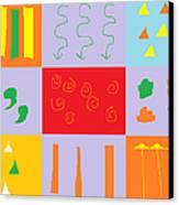 Larnaca Shop Window 9 Canvas Print by Anita Dale Livaditis