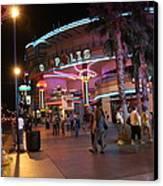 Las Vegas - Fremont Street Experience - 121224 Canvas Print by DC Photographer