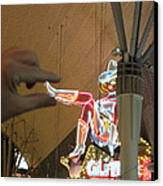 Las Vegas - Fremont Street Experience - 12129 Canvas Print by DC Photographer