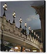 Las Vegas - Paris Casino - 12126 Canvas Print by DC Photographer
