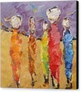 Last Of Nuba 2 Canvas Print by Negoud Dahab