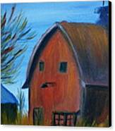 Last Of The Old Farms  Canvas Print