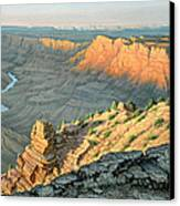 Late Afternoon-desert View Canvas Print by Paul Krapf