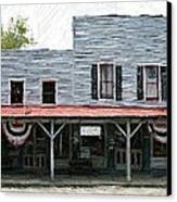 Latimore's Store - Perryville Ky Canvas Print by Thia Stover