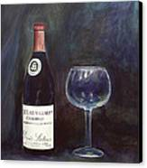 Latour Wine Buon Fresco 3 Primary Pigments Canvas Print