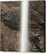 Latourell Falls Panorama Canvas Print by Andrew Soundarajan