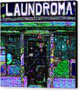 Laundromat 20130731m108 Canvas Print by Wingsdomain Art and Photography