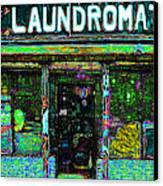 Laundromat 20130731p180 Canvas Print by Wingsdomain Art and Photography