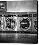 Laundromat Art Canvas Print