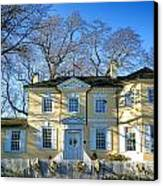 Laurel Hill Mansion Canvas Print by Olivier Le Queinec