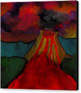 Lava Flow Canvas Print
