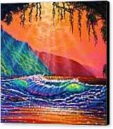 Lava Tube Fantasy Canvas Print by Joseph   Ruff