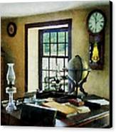 Lawyer - Globe Books And Lamps Canvas Print