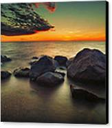 Lazy Sunset Canvas Print