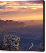 Le Grand Sunrise Canvas Print