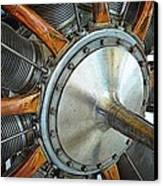 Le Rhone C-9j Engine Canvas Print