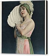 Le Theatre 1912 1910s France Mlle Canvas Print by The Advertising Archives