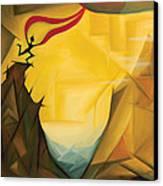 Leap Of Faith Canvas Print by Tiffany Davis-Rustam