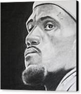 Lebron Canvas Print by Don Medina