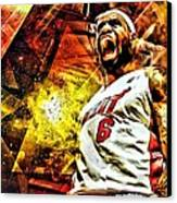 Lebron James Art Poster Canvas Print by Florian Rodarte