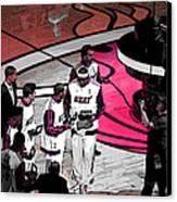 Lebron's 1st Ring Canvas Print