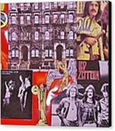 Led Zeppelin  Collage Number Two Canvas Print