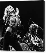 Led Zeppelin Live 1975 Canvas Print