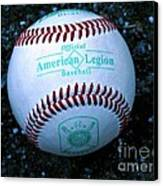 Legion Baseball Canvas Print by Colleen Kammerer