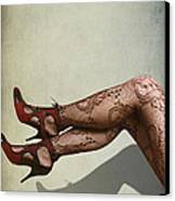 Legs Canvas Print by Svetlana Sewell