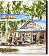 Leipers Fork Market Canvas Print