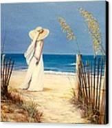 Lennis Canvas Print by Melodye Whitaker