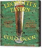 Leonetti's Tavern Canvas Print by Debbie DeWitt