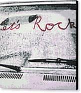 Lets Rock Canvas Print