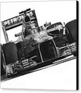 Lewis Hamilton Canvas Print by James Wing