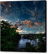 Lewiston In July Canvas Print