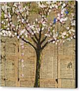 Lexicon Tree Of Life 3 Canvas Print by Blenda Studio